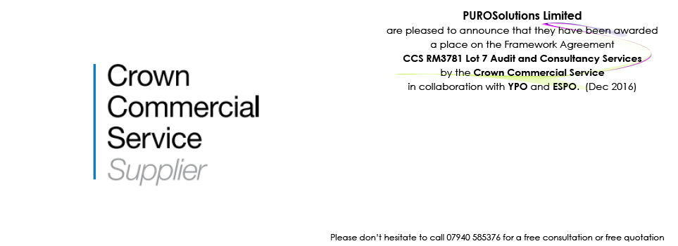 CCS RM3781  Lot 7